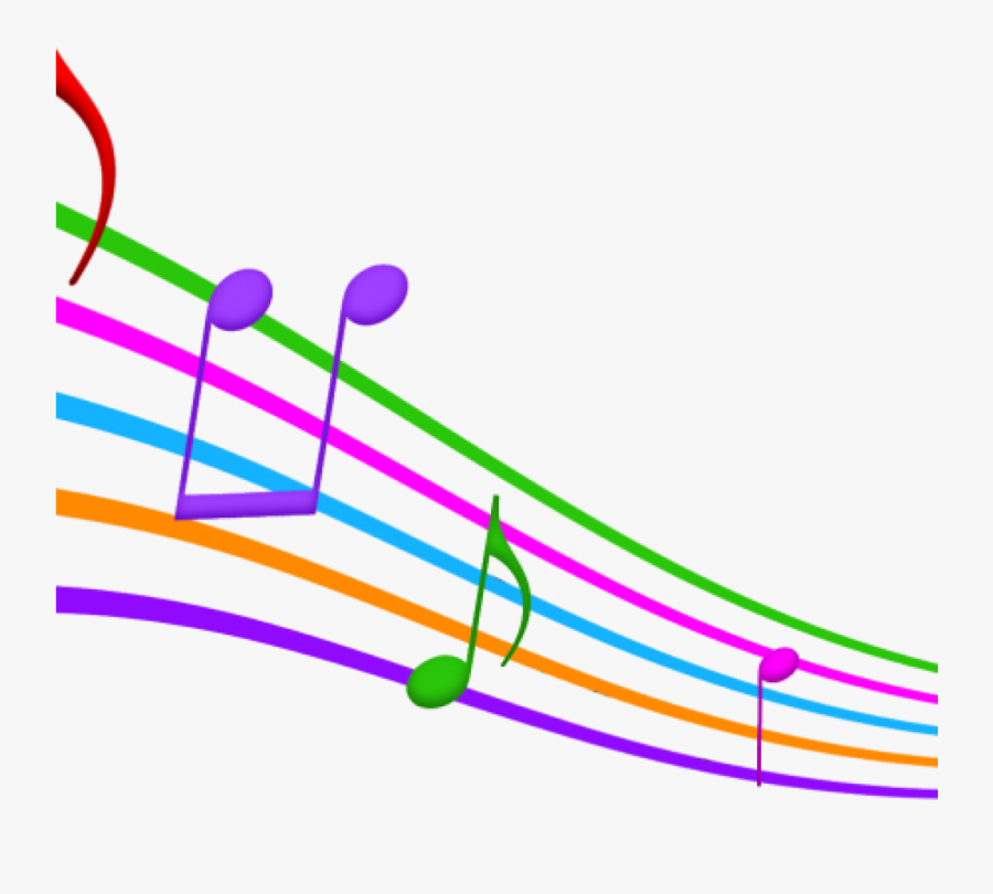 Music Notes Images Free Clip Art Clipart Musical At - Color Music Notes Clipart, Transparent Clipart