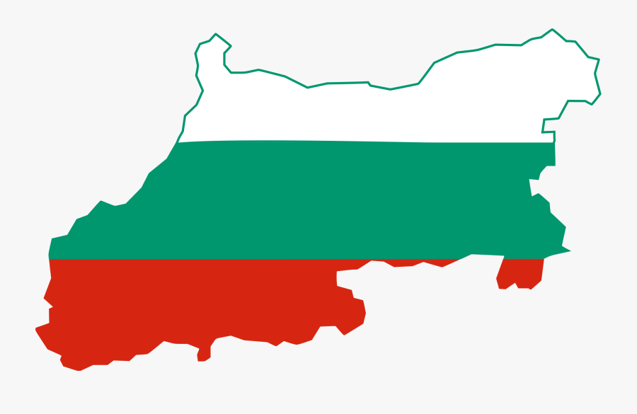File - Flag - - Bulgaria Map With Flag, Transparent Clipart