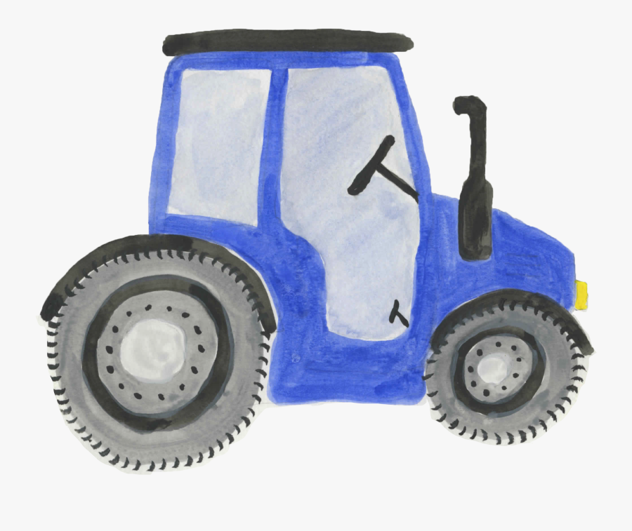 Blue Tractor PNG, SVG Clip art for Web - Download Clip Art, PNG Icon Arts