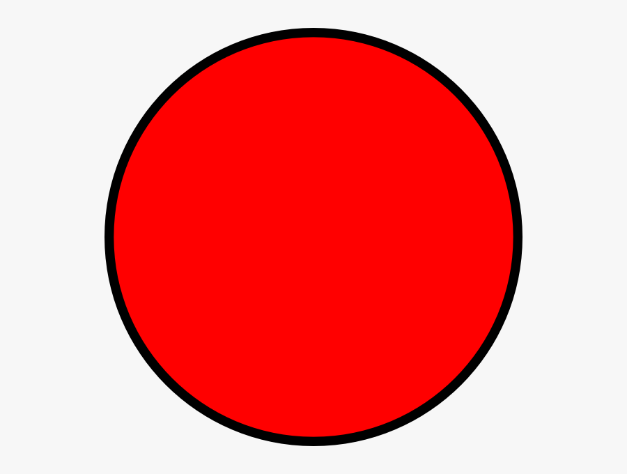 Red Circle Clipart, Transparent Clipart