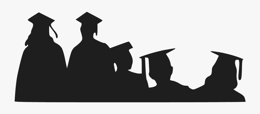 School Cliparts Transparent Degree - Graduation Students Transparent Background, Transparent Clipart