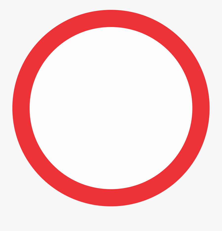 Red Circle Clip Art At Clker - Clip Art Red Circle, Transparent Clipart