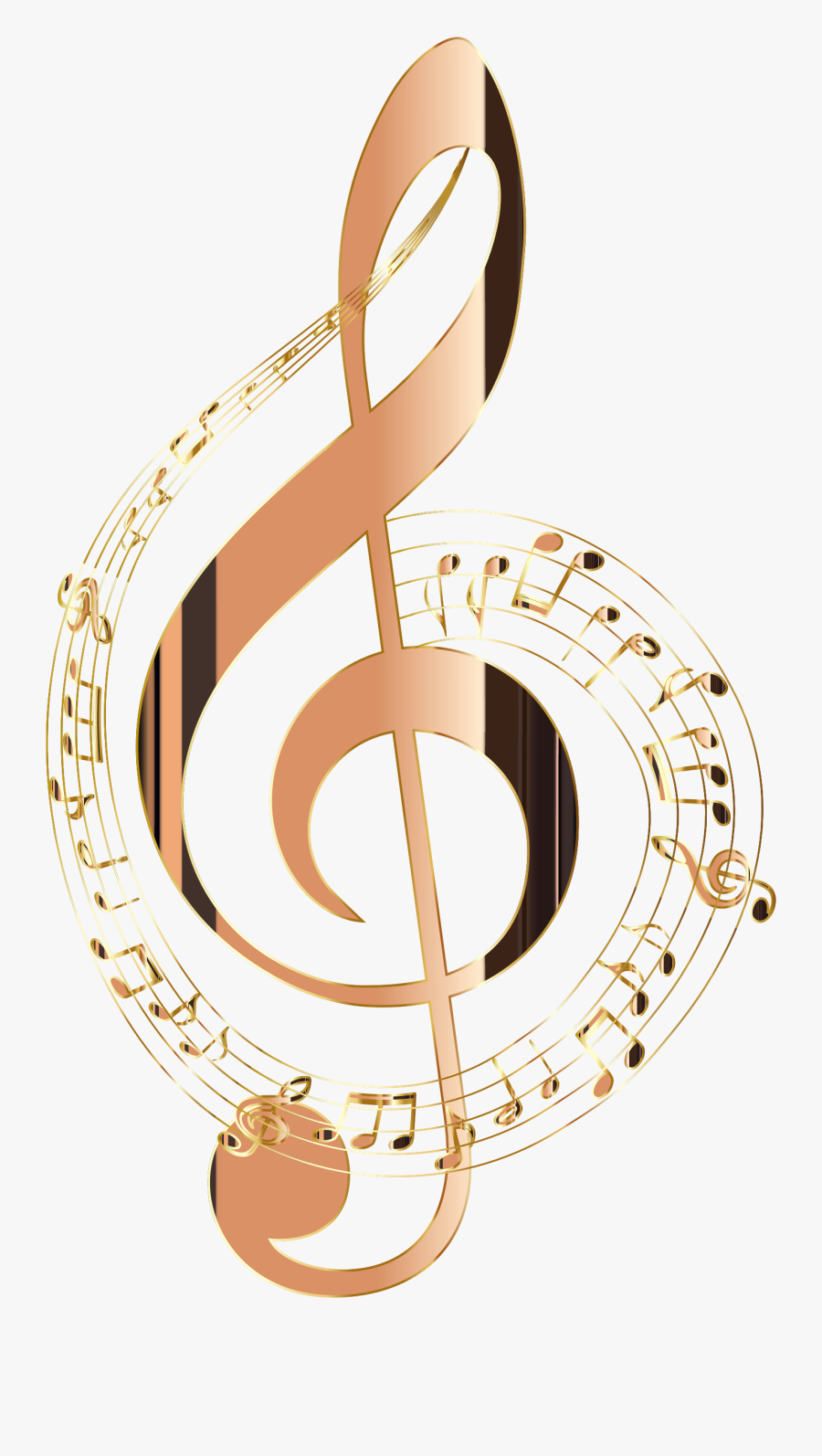 Transparent Music Note Clipart - Colorful Transparent Background Music Notes, Transparent Clipart
