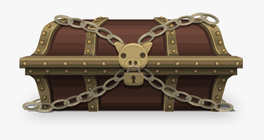 Treasure Chest Free To Use Clipart - Locked Treasure Chest Gif, Transparent Clipart