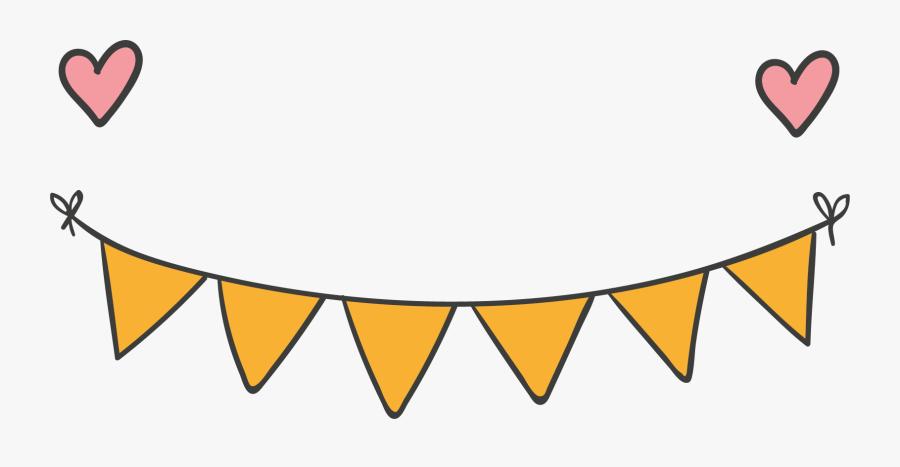Banner Party Clip Art - Transparent Background Ribbon Banner Clipart Pink, Transparent Clipart