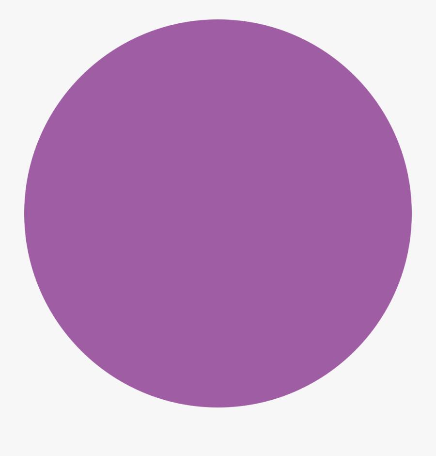 Clip Art Purple Circle Clipart - Purple In Circle, Transparent Clipart