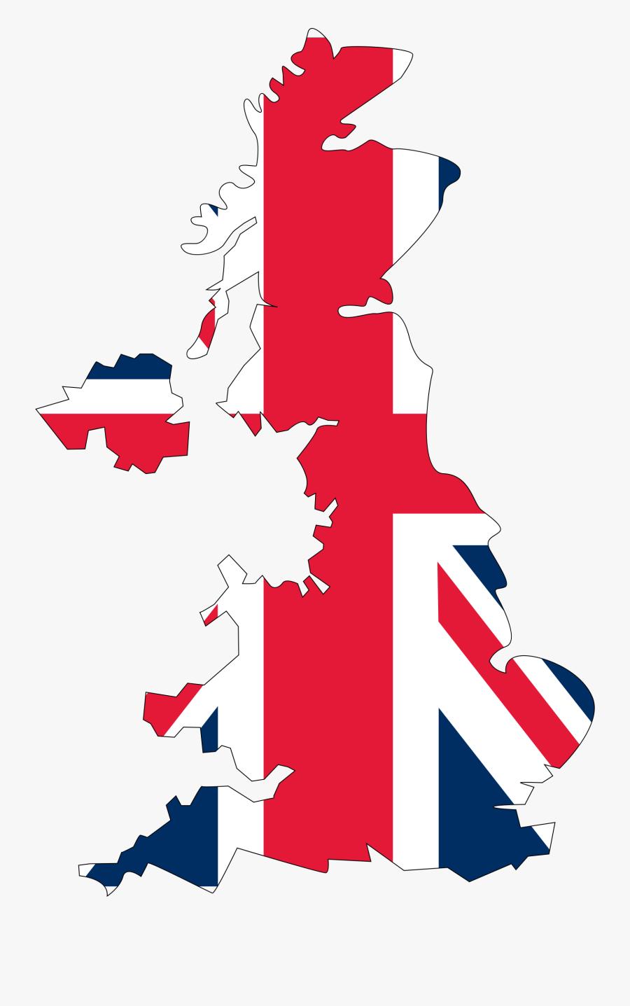 Transparent Map Clipart Png - United Kingdom Map Svg, Transparent Clipart