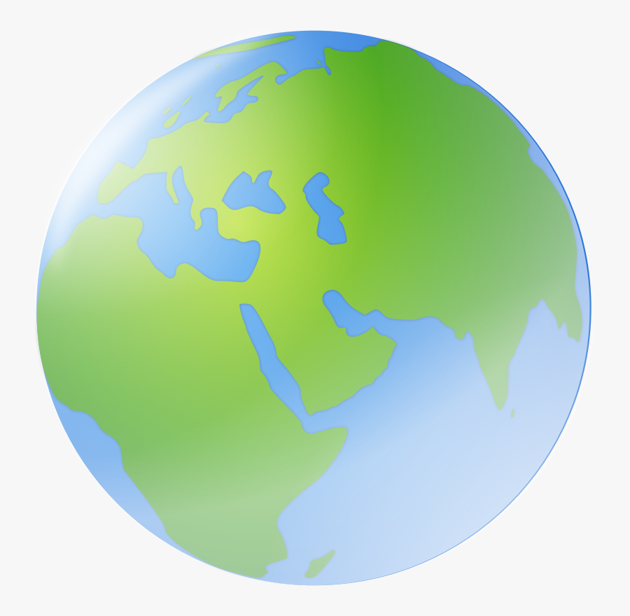 Transparent Clipart Of World - Earth, Transparent Clipart