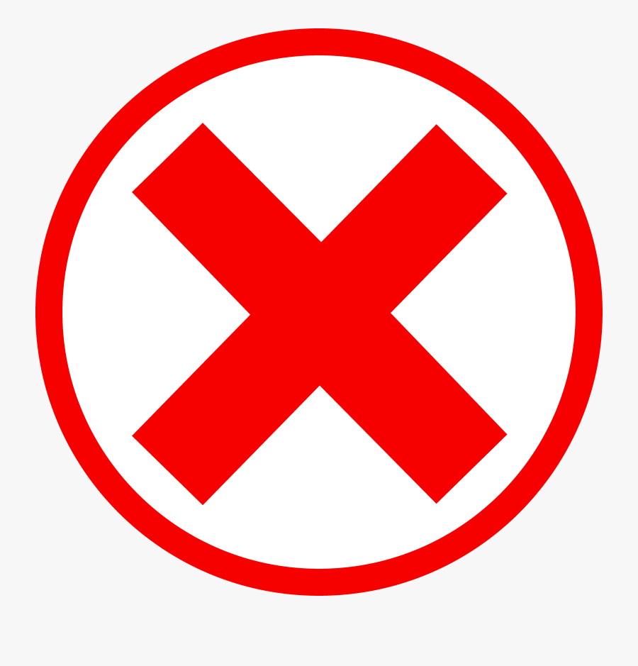 Red Cross Red Circle And Clipart Free To Use Clip Art - Red Circle With X, Transparent Clipart
