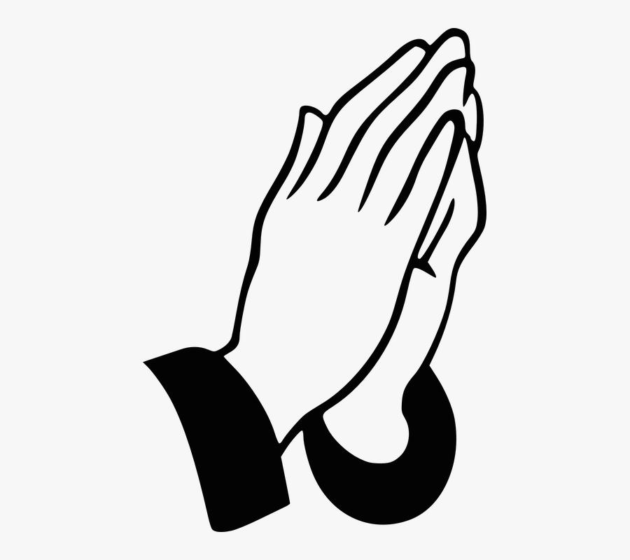 Hands Praying Christian Pray Religious Prayer - Prayer For Thanks Lord, Transparent Clipart