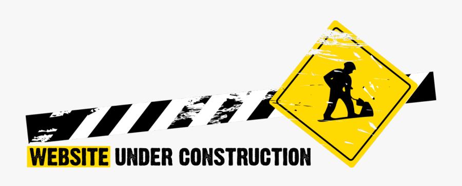 Under Construction Cliparts - Site Under Construction Png, Transparent Clipart