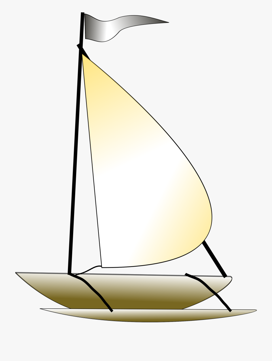 Sail Small Boat Frames - Sailing Boat Gif Png, Transparent Clipart