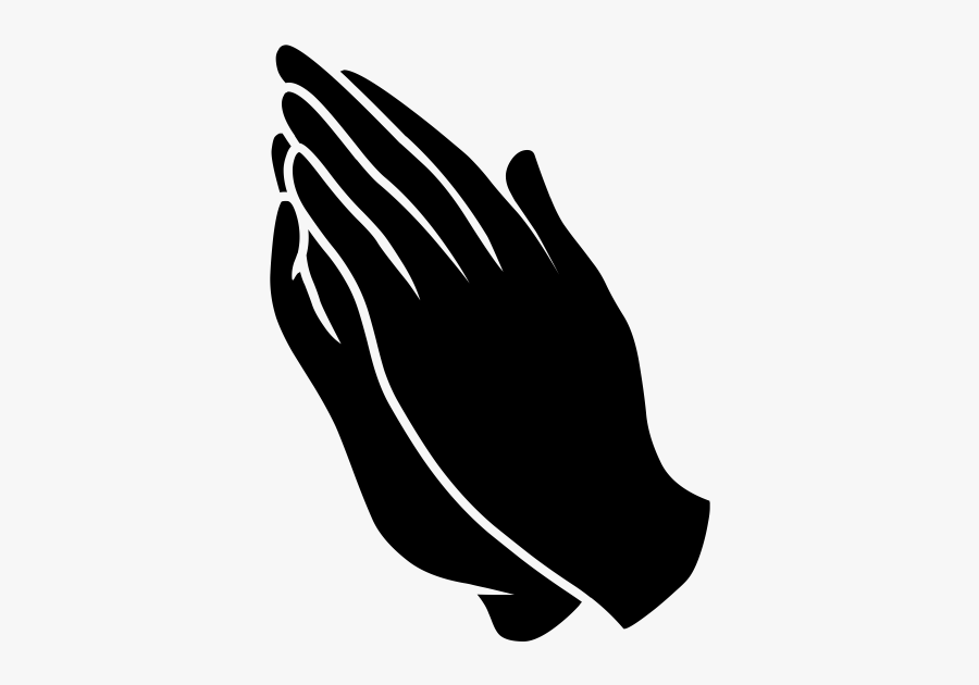Praying Hands Icon Png, Transparent Clipart