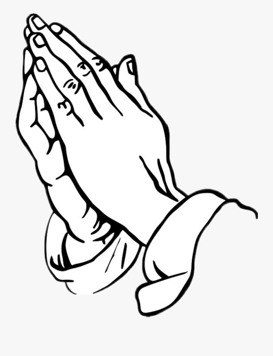 Church Prayer Hand Clip Art, Transparent Clipart