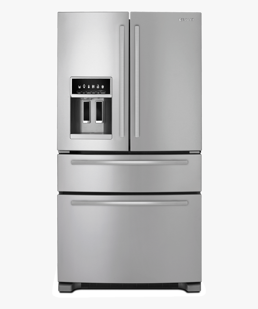 Standard - Kitchenaid 3 Door Fridge, Transparent Clipart