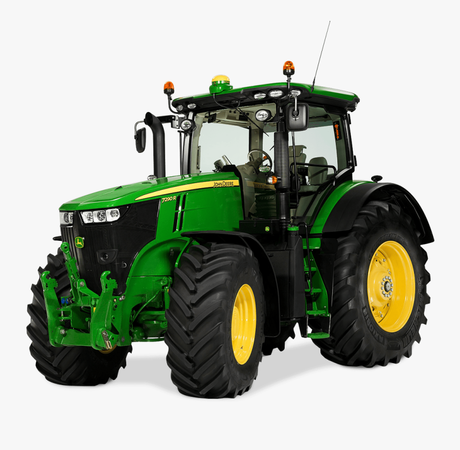 Clipart Free Stock Agriculture Clipart Tractor - John Deere 7290 R, Transparent Clipart