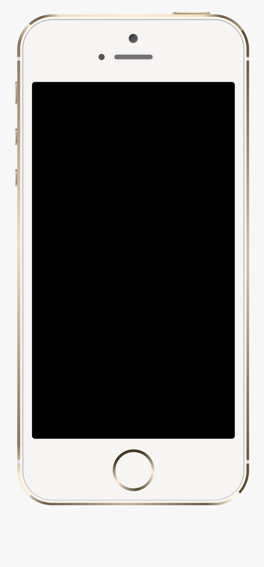 Iphone 5s Clip Art Gallery - Ipad Air Mockup Png, Transparent Clipart
