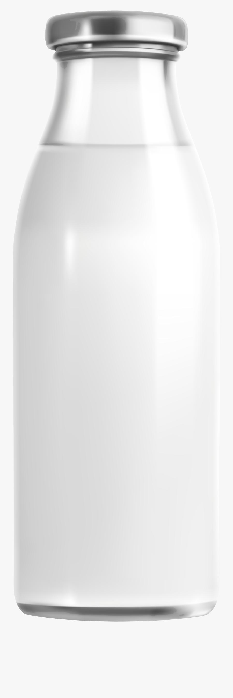Milk Bottle Png Clip Art - Milk Glass Bottle Png, Transparent Clipart