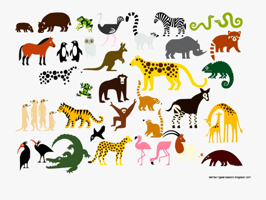 Animal Zoo Animals Clipart Transparent Png - Zoo Animal Clipart, Transparent Clipart