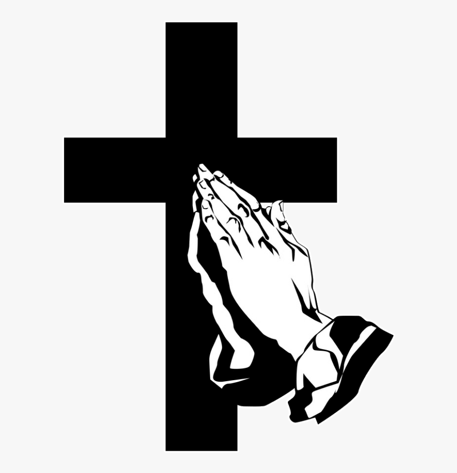 Funeral Clipart Prayer Hand - Transparent Praying Hands Png, Transparent Clipart