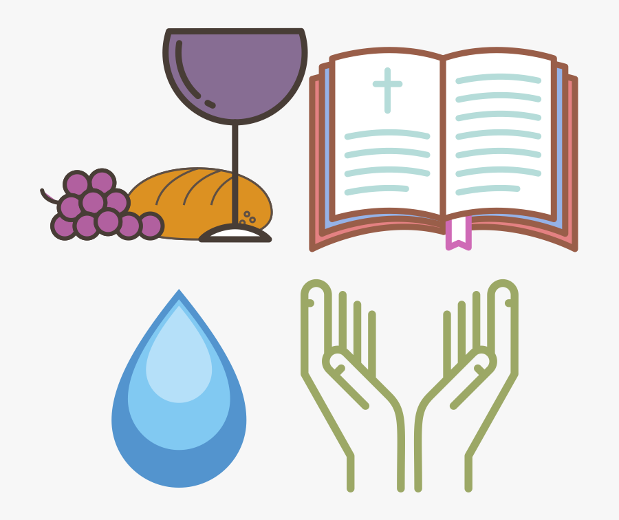 Dependent Upon Ordinary Means Of Grace - Pray Hand Vector Png, Transparent Clipart