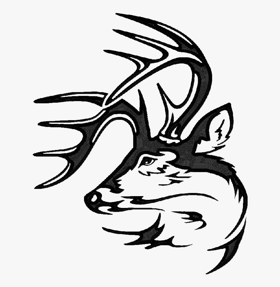 Legendary Whitetail Logo, Transparent Clipart