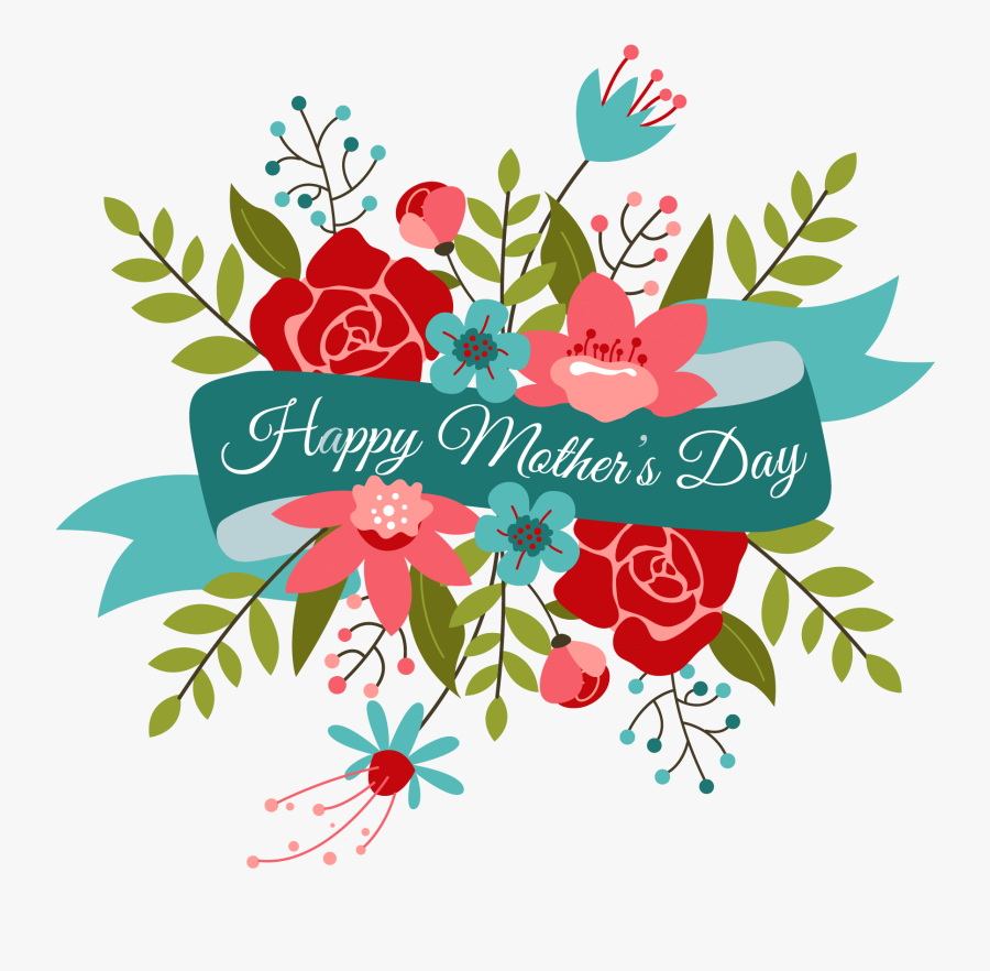 Clip Art Happy Mothers Day, Transparent Clipart