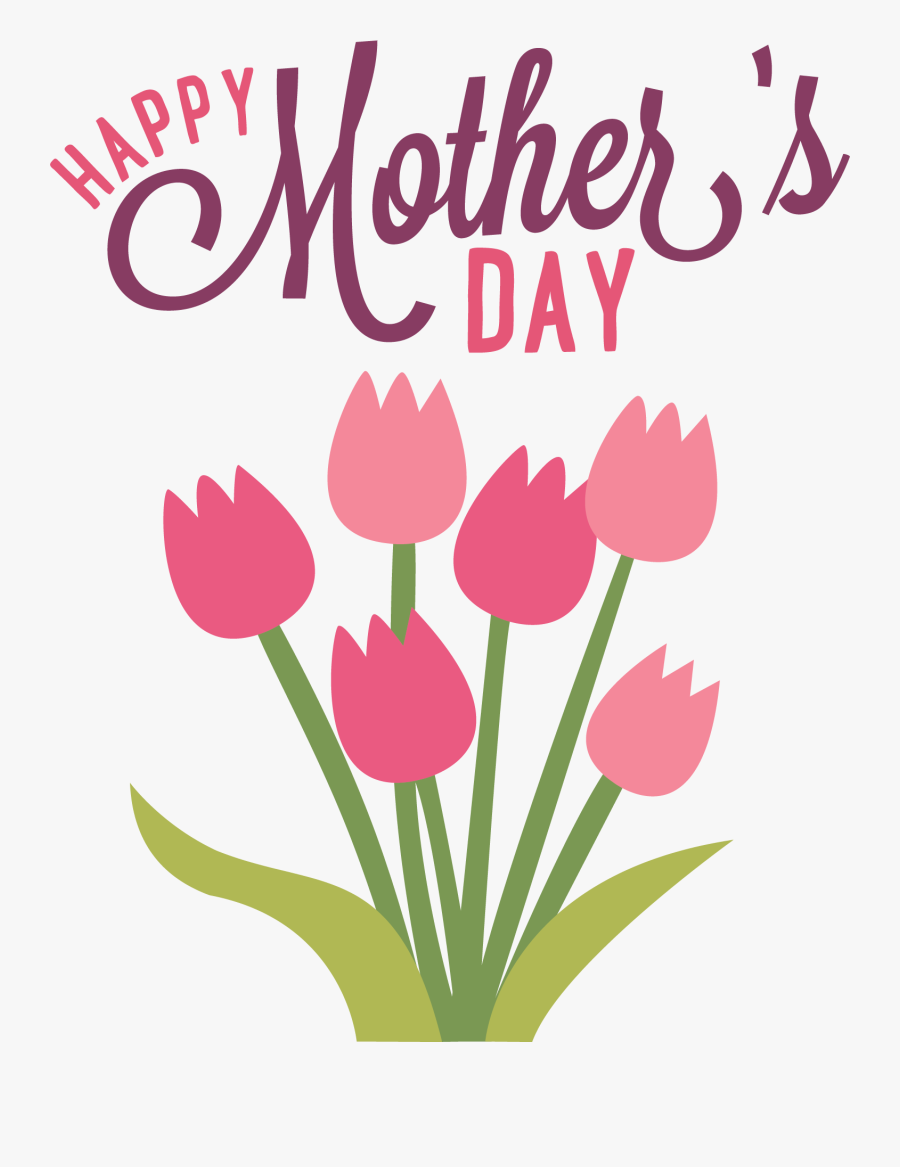 Mothers Day Clipart - Happy Mothers Day Transparent Background, Transparent Clipart