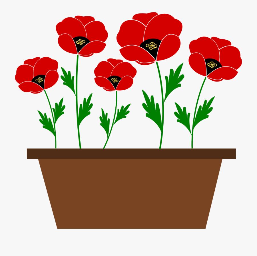 Plant,flower,seed Plant - Flowers Pot Clip Art, Transparent Clipart