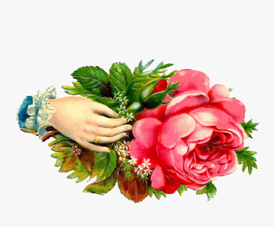 Praying Hands Clip Art Praying Hands Clip Art 6 Png - Hand A Flower Clipart, Transparent Clipart