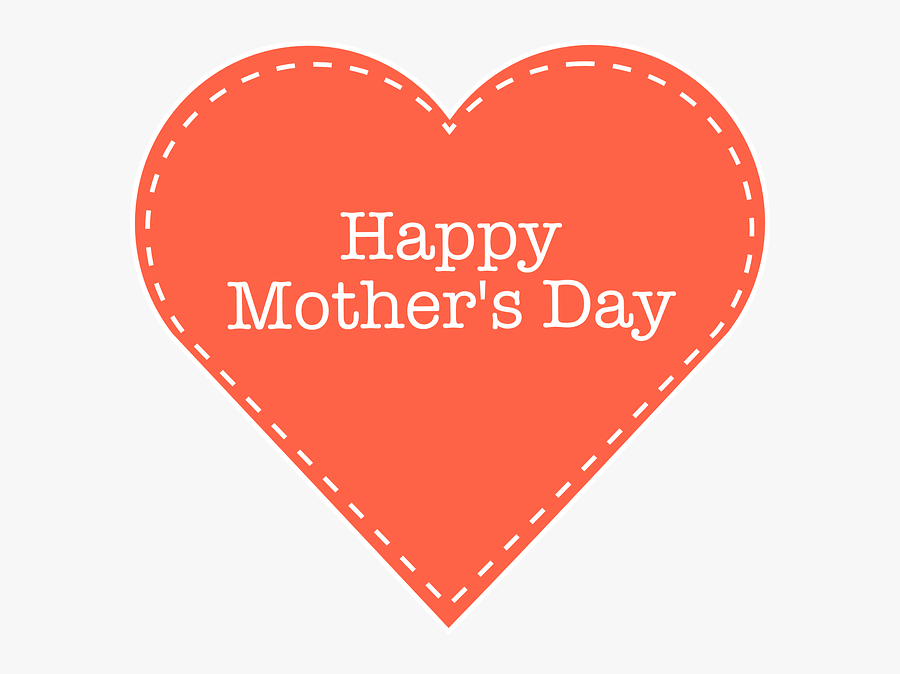 Mothers Day Image Clip Art For Free Mothers Day Pictures - Happy Mothers Day Heart, Transparent Clipart