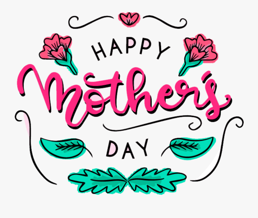Download Simple Border Mother S Day Decoration Free - Transparent Background Mother's Day Png, Transparent Clipart