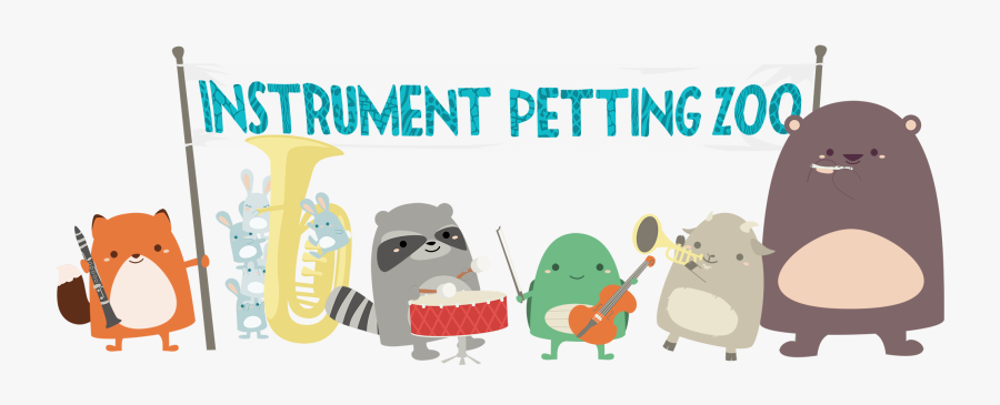 Instrument Petting Zoo Clipart, Transparent Clipart
