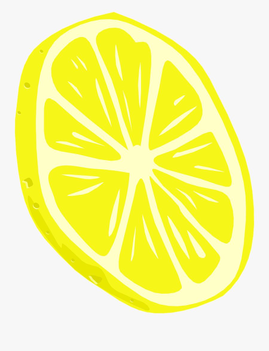 Lemon Free To Use Cliparts - Lemon Slice Png Vector, Transparent Clipart