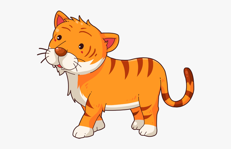 Free Clipart For Commercial Use Public Domain Cartoon Tiger Free Transparent Clipart Clipartkey