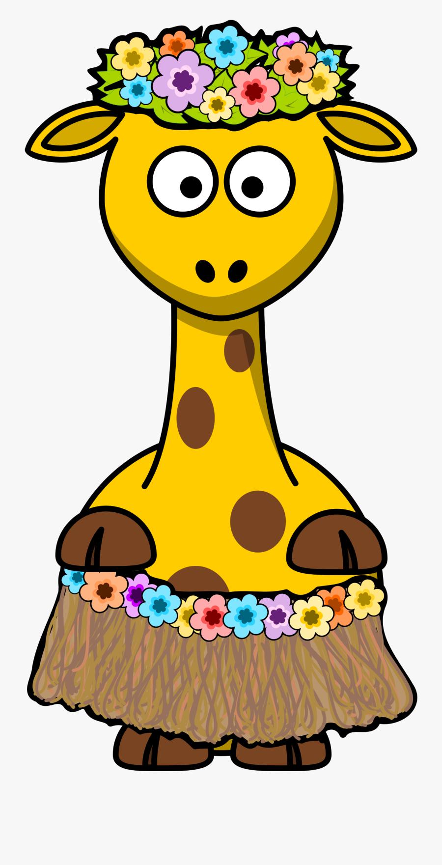2013 December Colouringbook - Cartoon Giraffe, Transparent Clipart