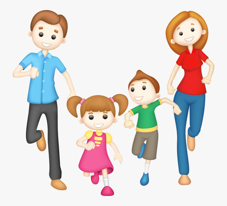 Exercise Clipart Family - Happy Family Clipart Png , Free ... (900 x 819 Pixel)