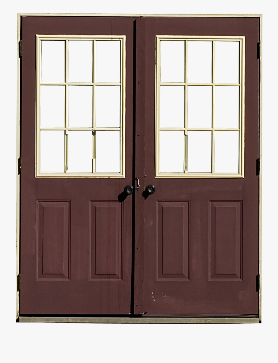 Clip Art Transparent Doors Free Download - Double Door Png Transparent, Transparent Clipart
