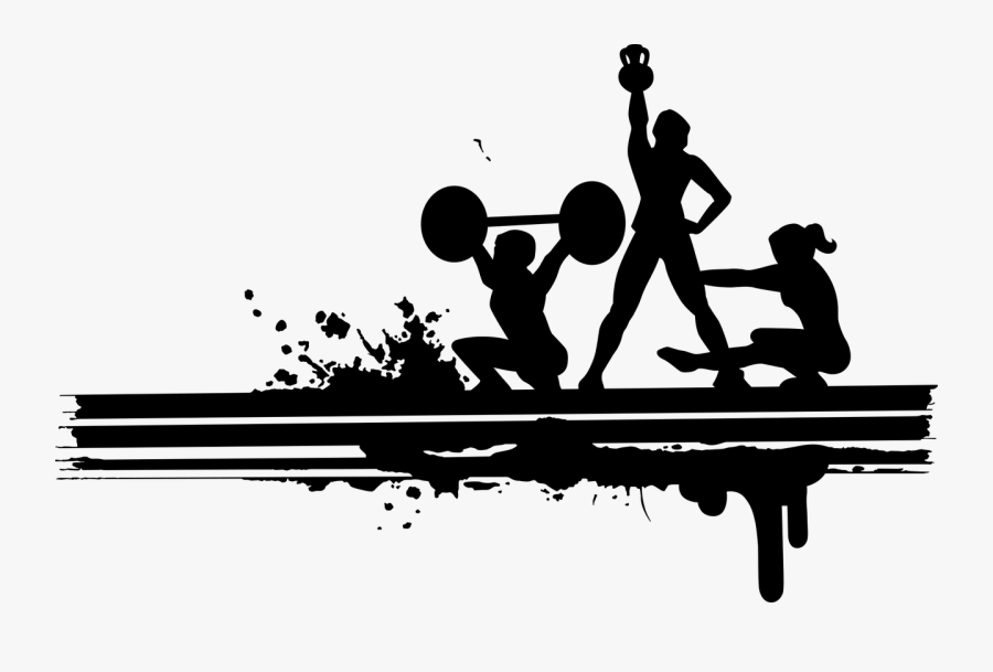 Weightlifting Clipart - lady-lifting-weights-for-strength-training-workout- clipart - Classroom Clipart