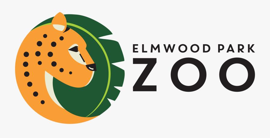 Elmwood Park Zoo Offers Treetop Adventures For Their - Elmwood Park Zoo Logo, Transparent Clipart
