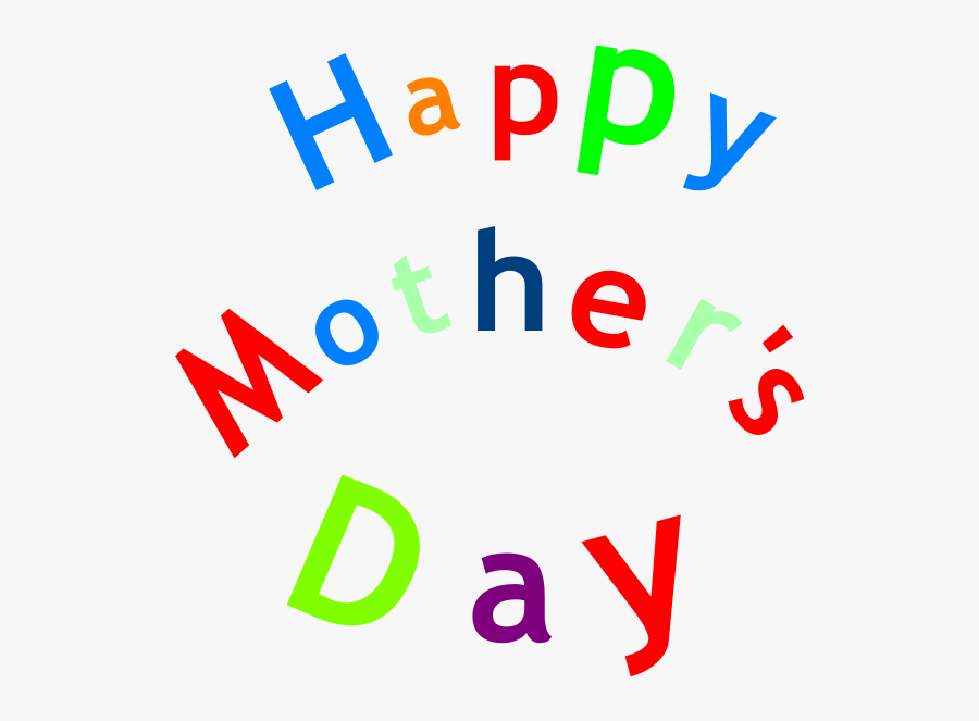 Clipart ้ Happy Mother Day, Transparent Clipart