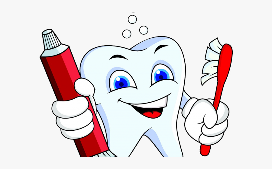 Toothbrush Clipart Cartoon - Oh I Wish I D Looked After Me Teeth, Transparent Clipart