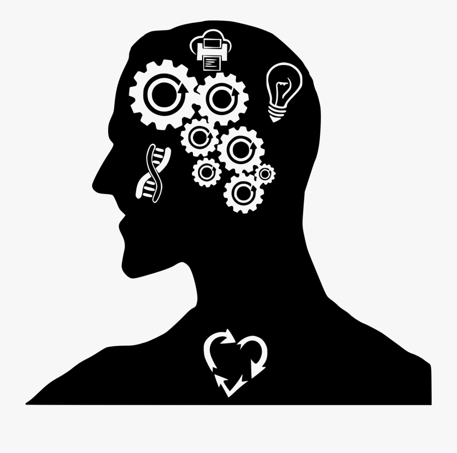 Brain Clipart Mind - Human Brain Clipart, Transparent Clipart