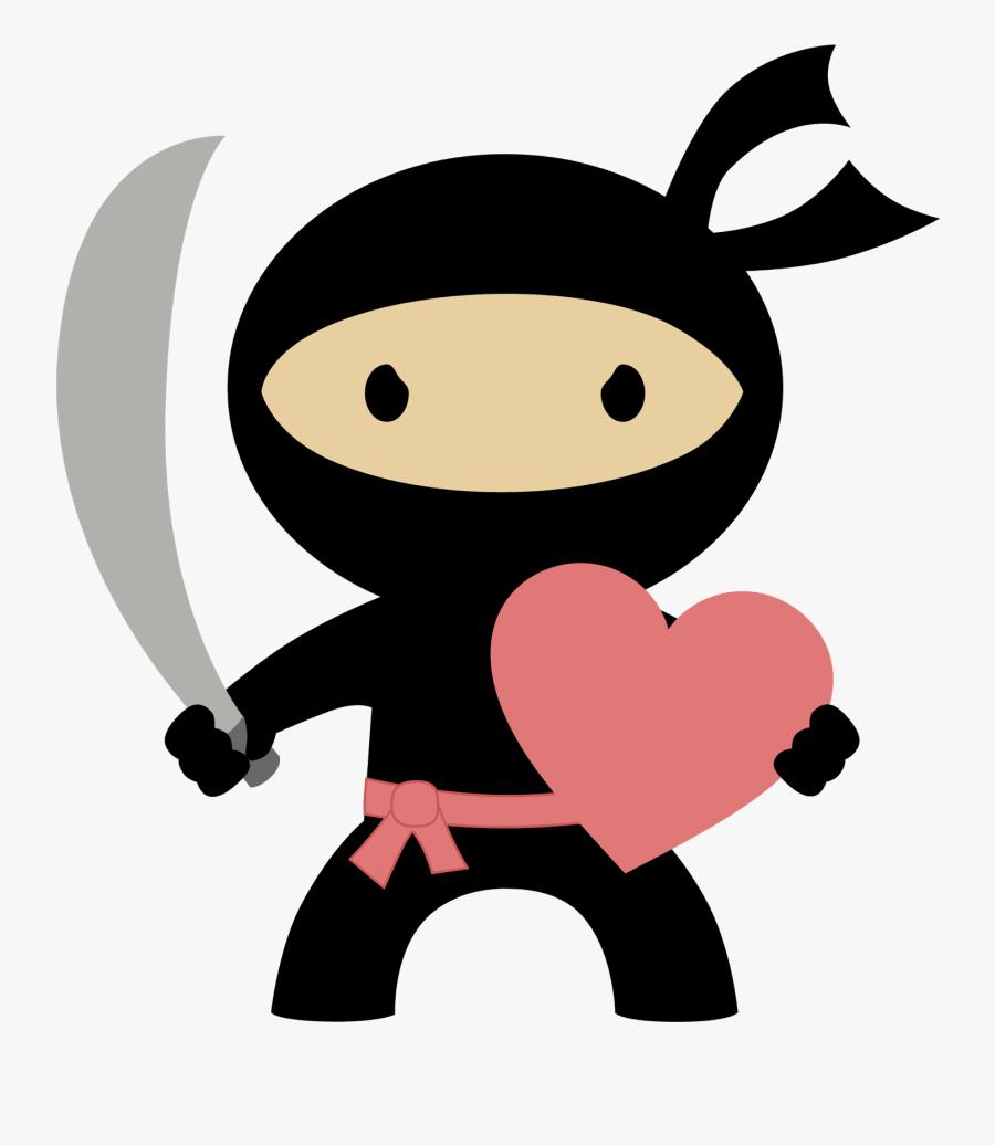 Free Ninja Birthday Invitations, Transparent Clipart