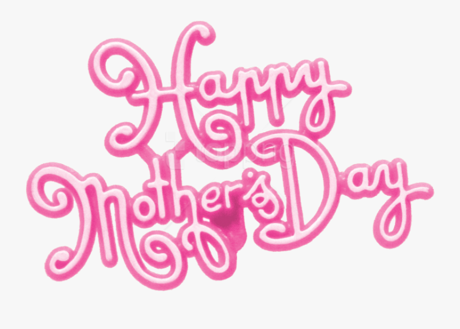 Happy Mothers Day Png Pictures Pink - Happy Mothers Day Png Transparent, Transparent Clipart