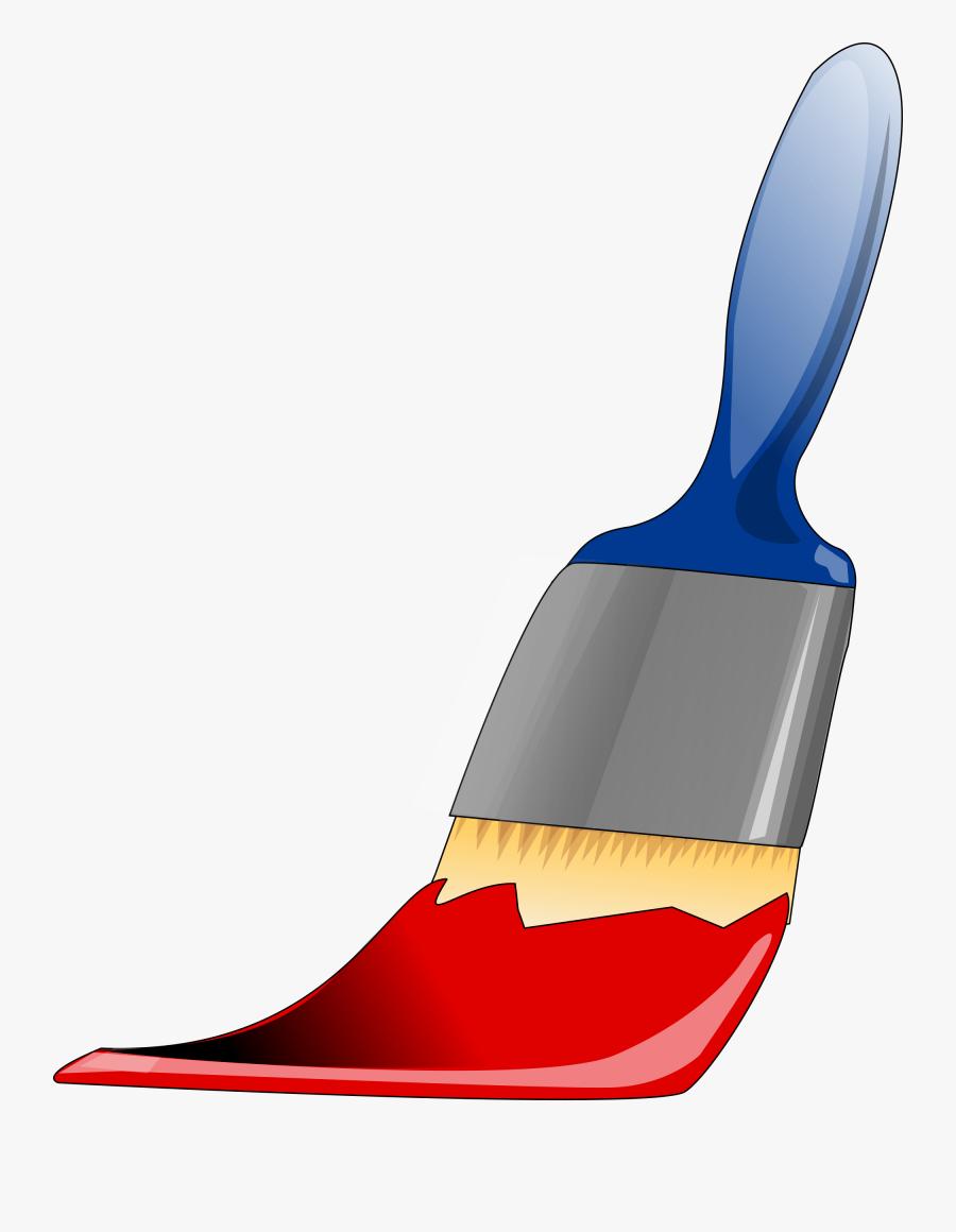 Paintbrush Tool Painting Paints Png Image - Paint Brush Clip Art, Transparent Clipart