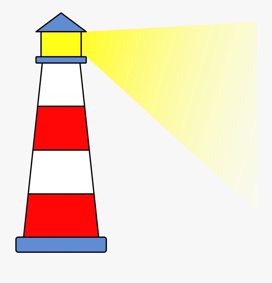 File Lighthouse Icon Wikimedia Commons - Lighthouse Clipart, Transparent Clipart