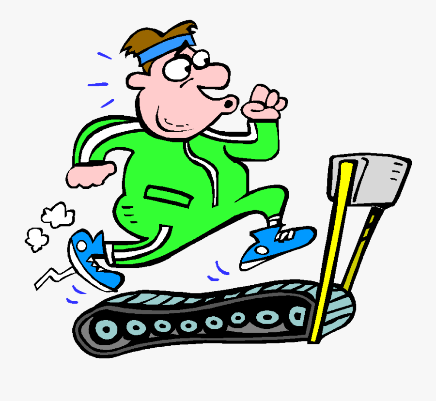 Exercise Clipart Back Exercise - Go To The Gym Cartoon, Transparent Clipart