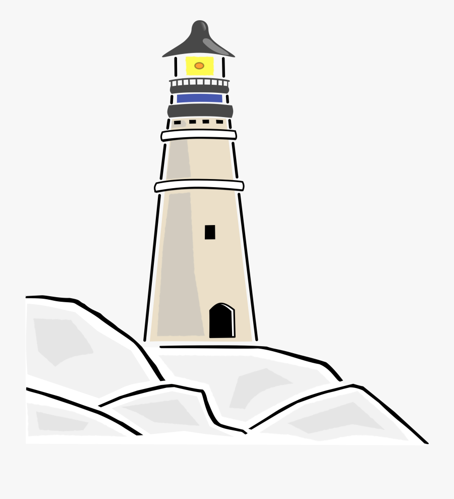 Tower,artwork,tree - Lighthouse Clipart, Transparent Clipart
