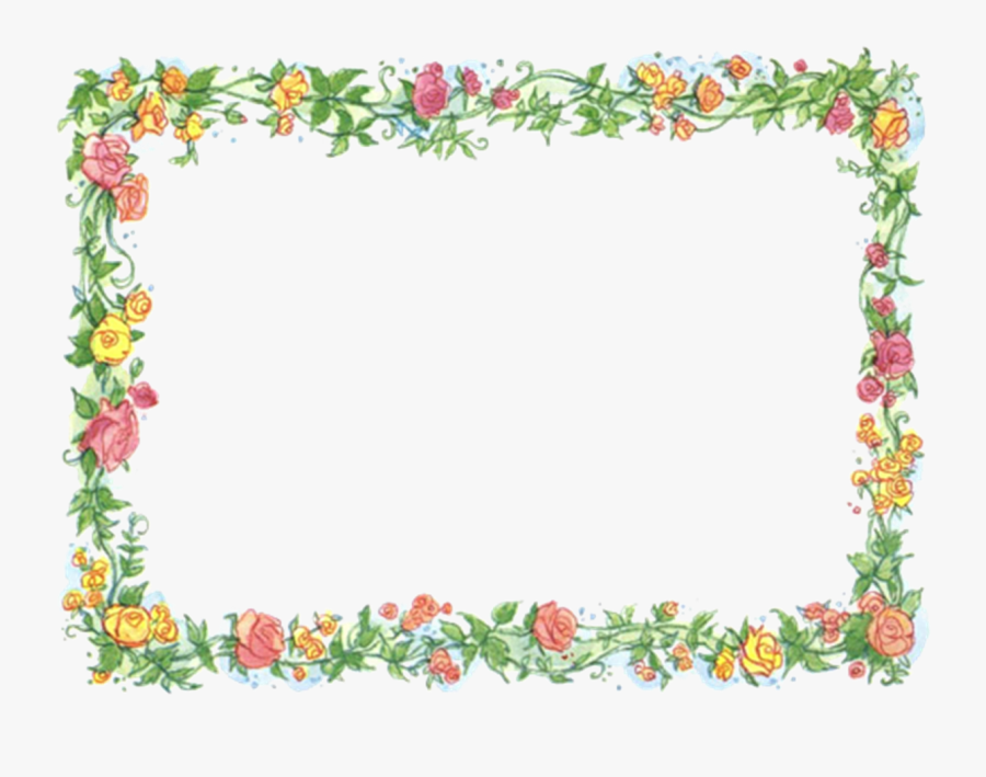 Clipart Frames Mothers Day - Mothers Day Border Clipart, Transparent Clipart
